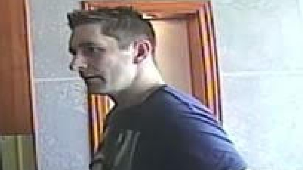 An image of the gas theft suspect.