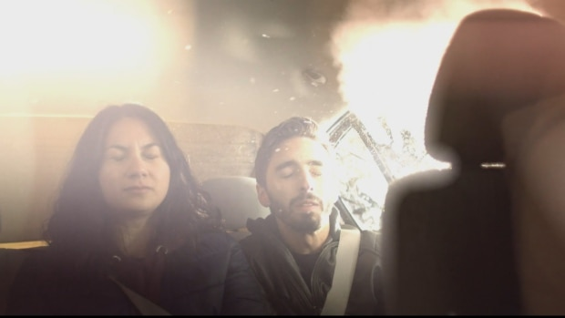 A scene from the government's new ad about high driving. According to Public Safety Canada, drug-impaired driving has been on the rise here since police-reported data became available in 2009. (Government of Canada)